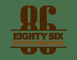86 Provisions Logo - Color