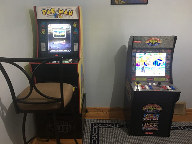 arcade1up in the home