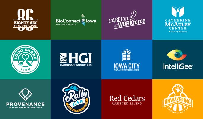 dN Logo Collage Color